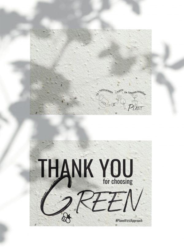 SALT& Thank you for choosing green