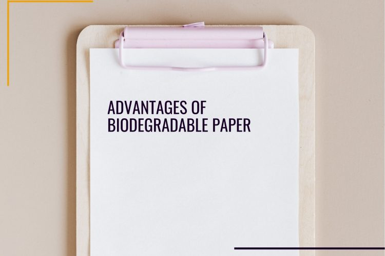 print on biodegradable paper